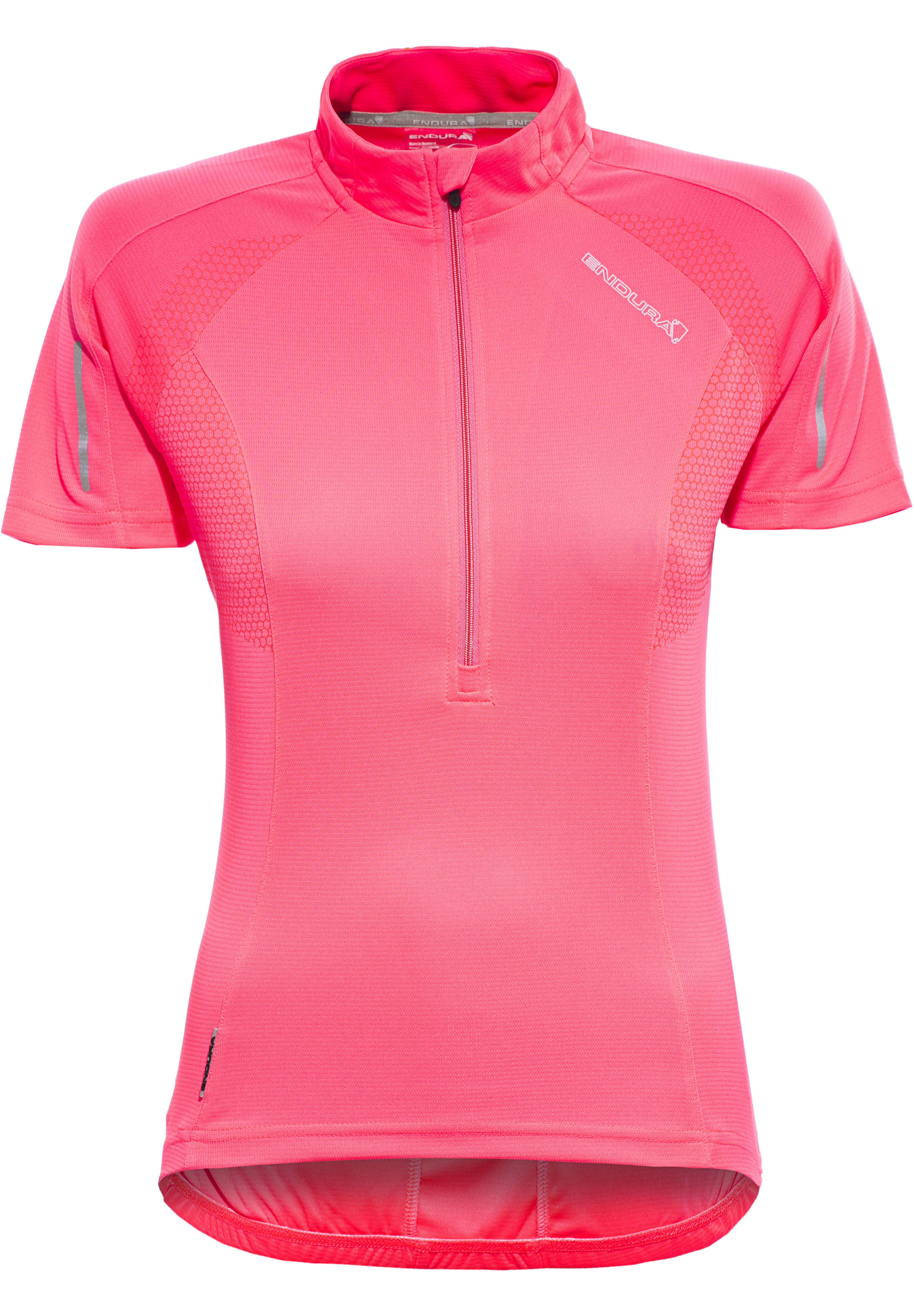 c6415008e Endura Xtract Bike Jersey Shortsleeve Women pink at Bikester.co.uk